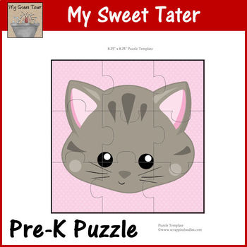 Kitty Pre-K Puzzle