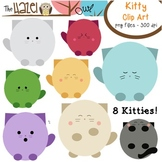 Kitty Cat Set: Clip Art Graphics for Teachers