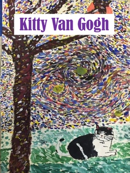 Art Lesson for Elementary: Kitty Van Gogh