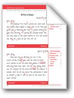 Kitty's Diary (Gr. 6+/Week 16)