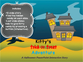Kitty's Halloween Adventure PowerPoint Interactive Story