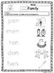 Kittygarten Kinect - No Prep - Winter - Word Families Packet 2