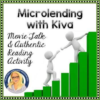 Kiva Microfinance Unit Vocabulary and Borrower Gallery Walk Reading Activity