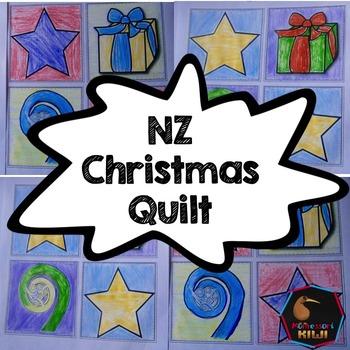 New Zealand Kiwi Christimas Quilt activity