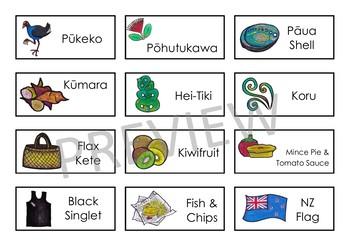 Kiwiana – BINGO game