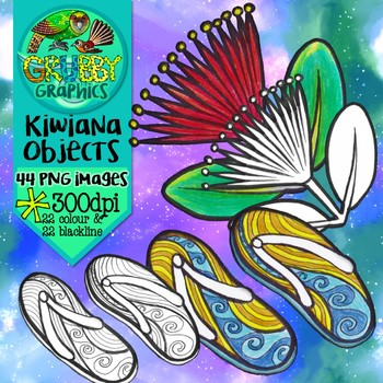 Kiwiana Clip Art {New Zealand themed}
