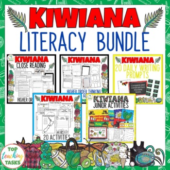 Kiwiana Literacy Bundle - New Zealand Reading, Writing and Creative Activities