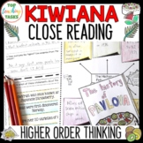 Kiwiana New Zealand Reading Comprehension Passages and Questions