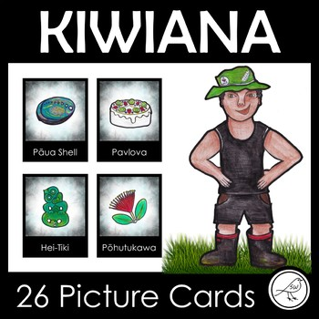 Kiwiana - Picture Cards