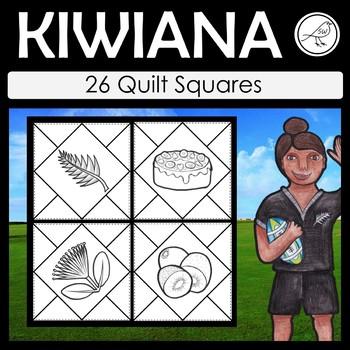 Kiwiana – Quilt Squares