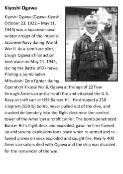 Kiyoshi Ogawa Kamikaze Handout