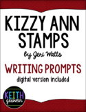 Kizzy Ann Stamps by Jeri Watts:  20 Writing Prompts