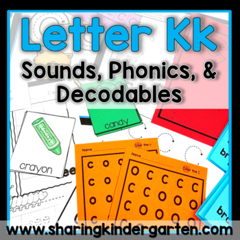 Letter Kk {Print & Play Pack}