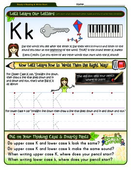 Kk Worksheet