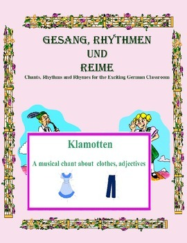 German Musical Chant About Clothing and Adjectives - Klamottten