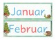 Klassenkalender für Bären oder Waldklassen