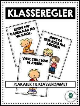 Klasseregler- plakater