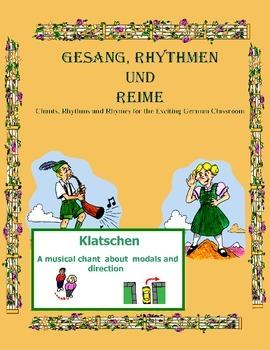 German Musical Chant About Modals - Klatschen
