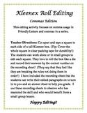 Kleenex Roll Editing- Comma Edition