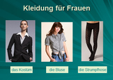 Kleidung: Clothing Activity Bundle