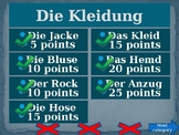 Kleidung (Clothing in German) Family Feud