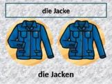 Kleidung (Clothing in German) PowerPoint