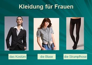 Kleidung: Vocabulary Introduction