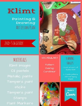 Klimt Holiday Painting Project