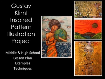 High School Art Lesson-Klimt