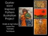 High School Art Lesson-Klimt