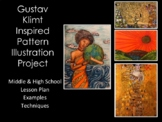 Middle and High School Art Lesson-Klimt
