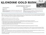 Klondike Gold Rush Advertisement Persuasion Project
