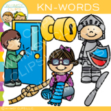 Phonics Clip Art - Kn- Words