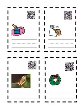 Kn Wr Spelling QR task cards