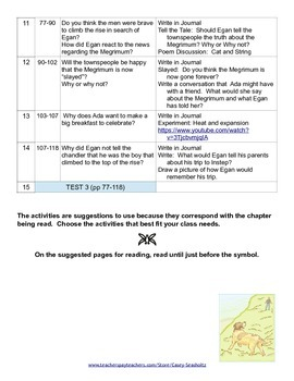 Kneeknock Rise (Babbitt): Tests, Printables, Activities, Vocabulary, & More!