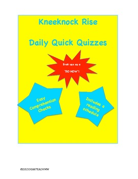 Kneeknock Rise Daily Quizzes