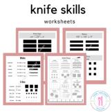 Knife Skills - vegetable cuts
