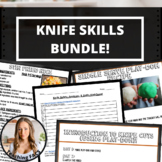 Knife Skills and Cuts Bundle [Lesson,  Play-Doh Recipe, & 2 Food Recipes]