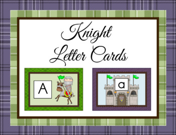 Knight Alphabet Cards and Charts (D'Nealian and Zaner-Bloser manuscripts)