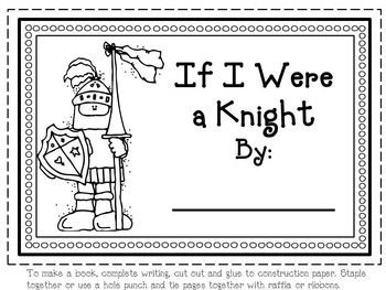 Knight Craft with Writing Options
