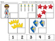 Knight/Prince Numeral Quantity Matching Set 2