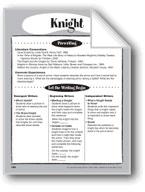 Knight Shape Book