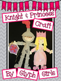 Knight and Princess Craft with Writing Options
