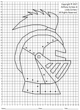 Knight's Helmet Mystery Picture