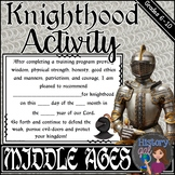 Knighthood Activity for the Middle Ages
