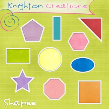 Knighton Creations - Academic Clipart - Geometric Shapes