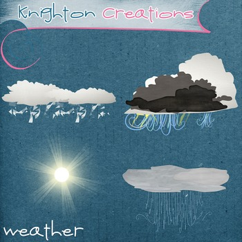 Knighton Creations - Academic Clipart - Weather