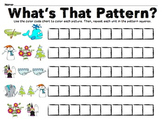 """Knighton Creations """"Chicken Soup With Rice"""" Pattern Creation! (Math Center)"""