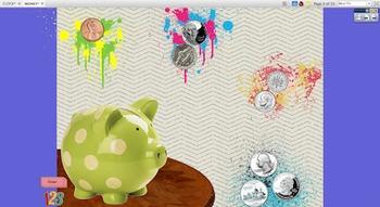 Knighton Creations - Coins & Money Intro & Practice Flipch