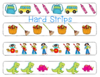 Knighton Creations Differentiated Pattern Strip Clippers - Math Center